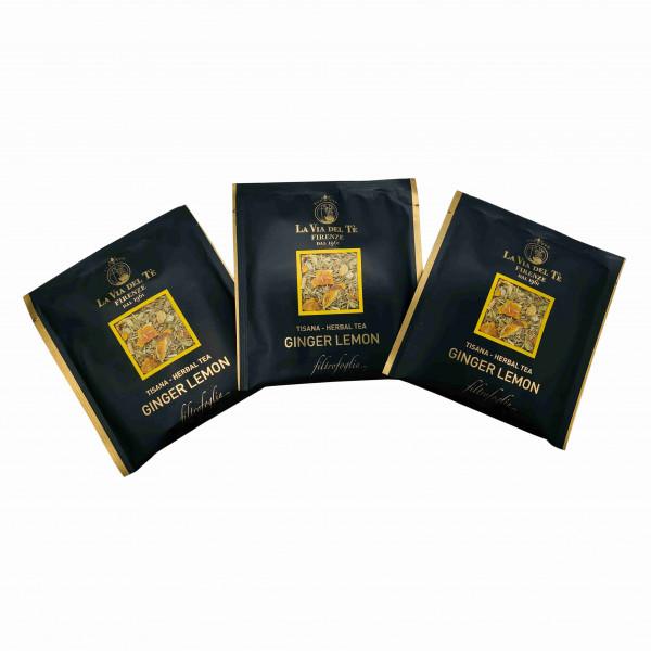 La Via del Te Ginger Lemon Herbal Tea - 250g(2.5gx100)