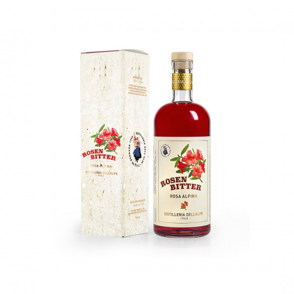 Maschio Distilleria dell'Alpe Rosen Bitter - Rosa Alpina 1L