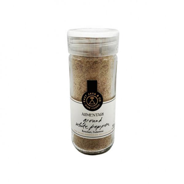 Alimentari Ground White Pepper  52g