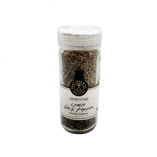 Alimentari Coarse Black Pepper 55g