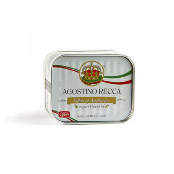 Agostino Recca Anchovies in Olive Oil
