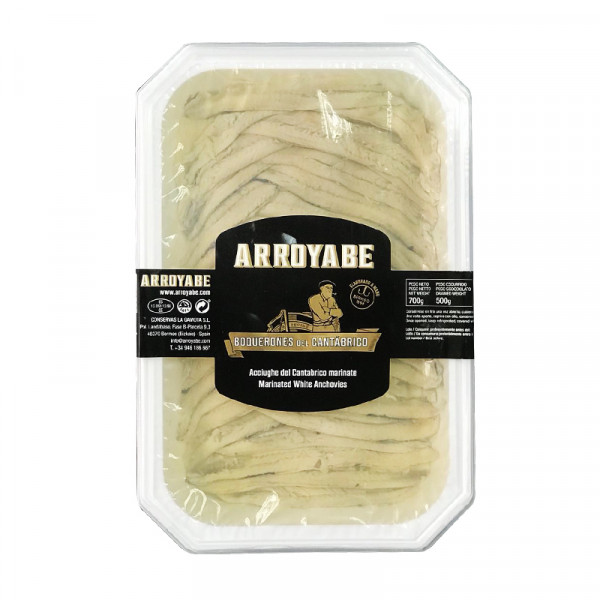 Arroyabe Boquerones - Marinated White Anchovies