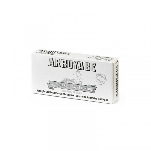 Arroyabe Cantabrian Anchovies Fillets in Olive Oil