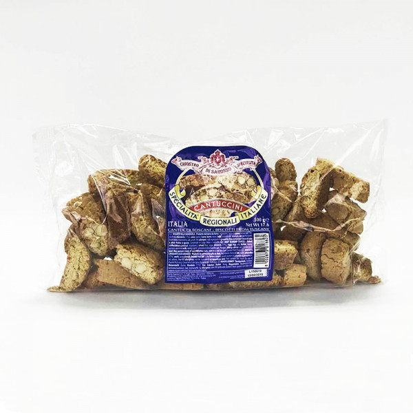 Lazzaroni Cantuccini with Almonds Biscuits - refill bag
