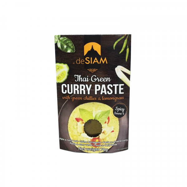 deSIAM Green Curry Paste (spicy)