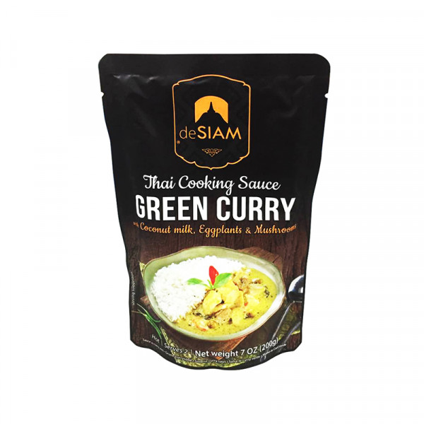 deSIAM Green Curry Sauce (with vegetables)