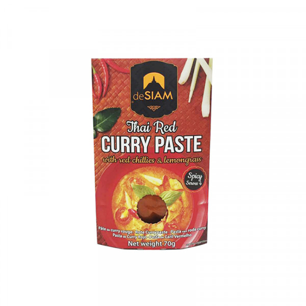 deSIAM Red Curry Paste (spicy)