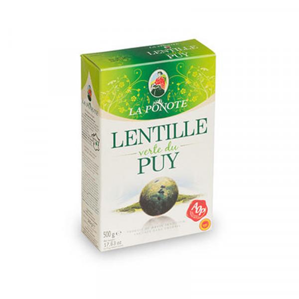 La Ponote Dried Le Puy Green Lentils (PDO)