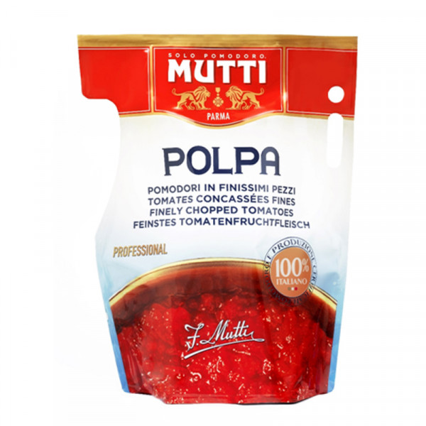 Mutti Finely Chopped Tomatos (pouch bag)