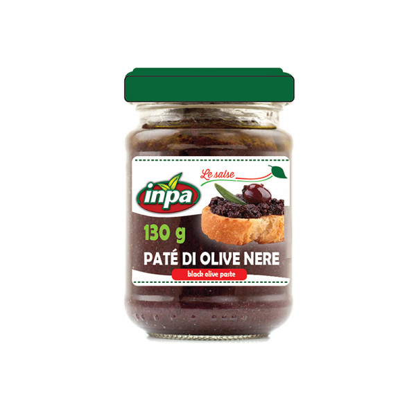 INPA Black Olive tapenade in Olive Oil
