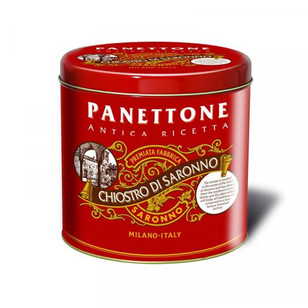 Lazzaroni Panettone - Metal Tin Elegance