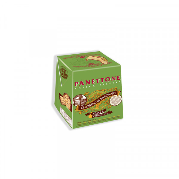 Lazzaroni Panettone with Pear & Chocolate Chips - Cardbox