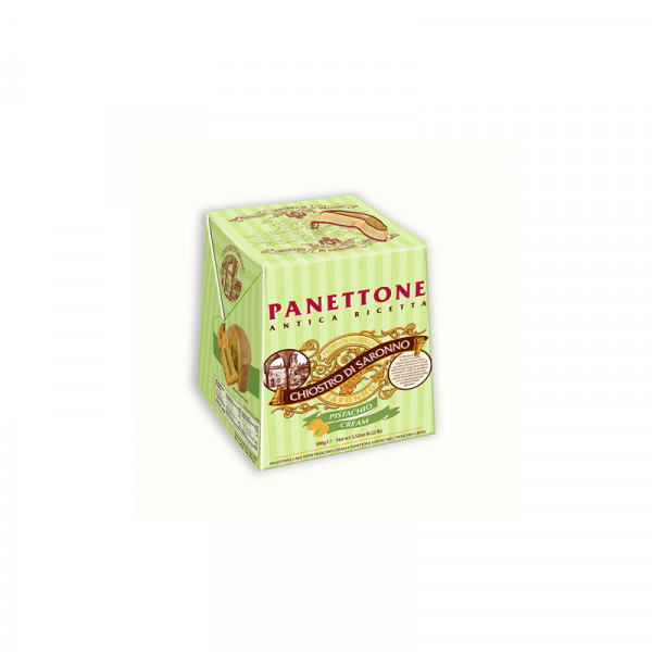 Lazzaroni Panettone with Pistachio - Cardbox