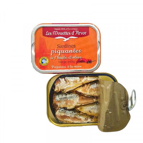 Sardines in Extra Virgin Olive Oil & Spices