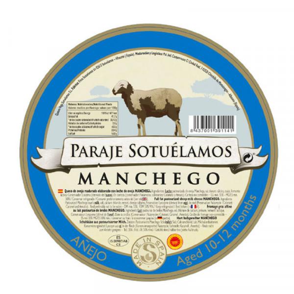Vega Mancha Manchego Cheese Anejo (Aged 10-12 months)