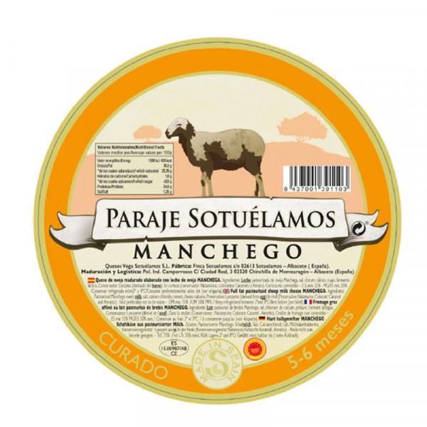 Vega Mancha Manchego Cheese Semicurado (Aged 5-6 months)