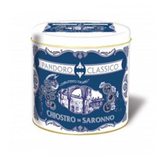 Lazzaroni Pandoro metal tin Cornice