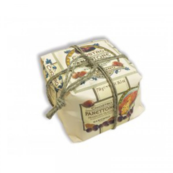 Lazzaroni Panettone Marrons Glaces handly wrapped