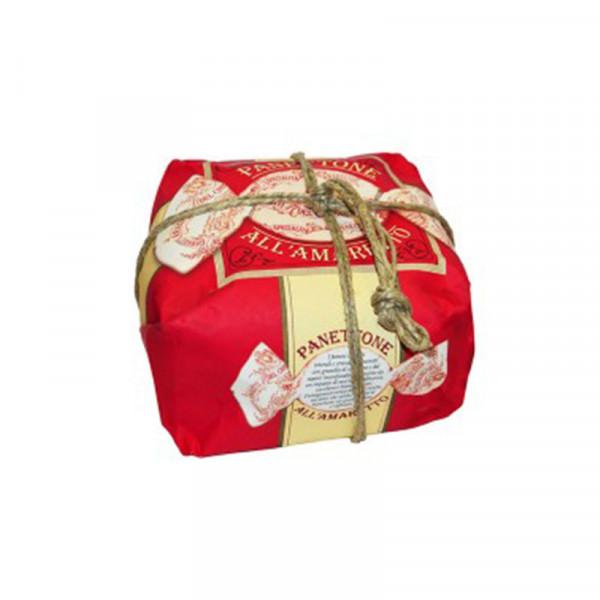 Lazzaroni Panettone Amaretto handly wrapped