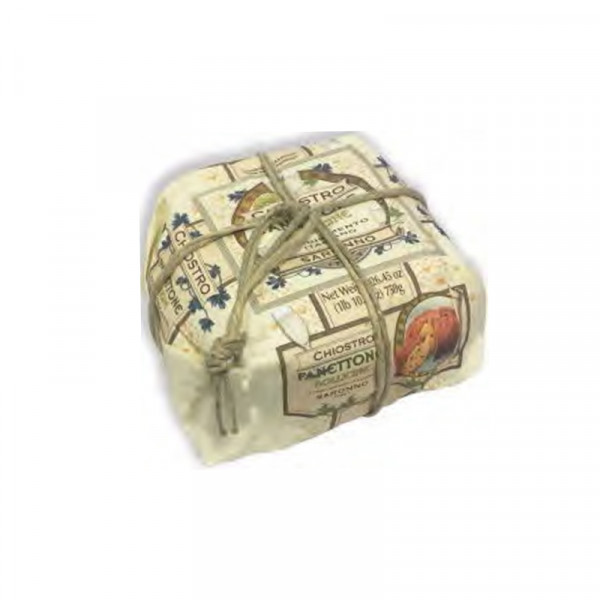 Lazzaroni Panettone Bollocine handly wrapped