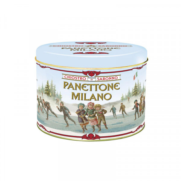 Lazzaroni Panettone Classico Pattinatori metal - Tin