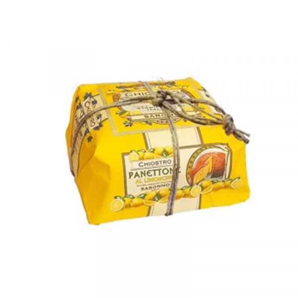 Lazzaroni Panettone Limoncello handly wrapped