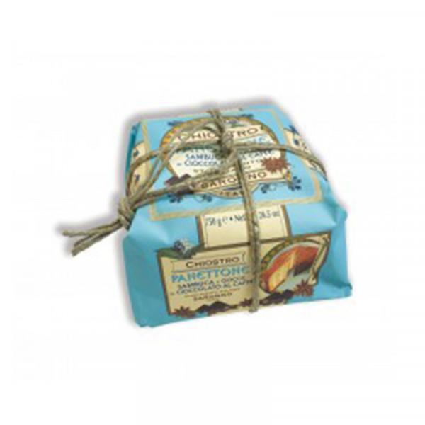 Lazzaroni Panettone Sambuca handly wrapped