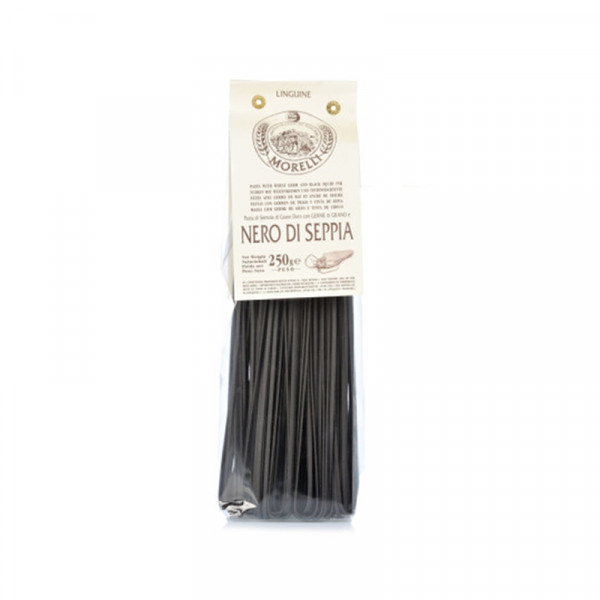 Pastificio Morelli Pasta with Black Squid Ink - Linguine