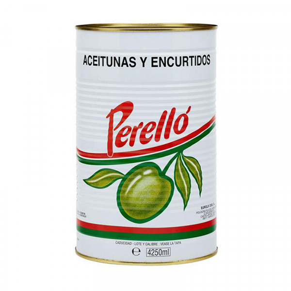 Perello' - Pitted Gordal Spicy Olives