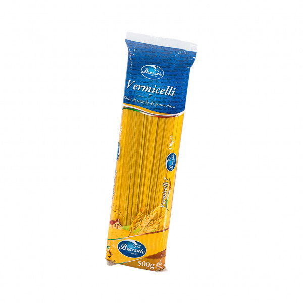 Brazzale Vermicelli #7 - 100% Durum Wheat Semolina