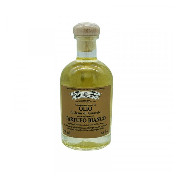 Tartuflanghe White truffle flavored oil (sunflower)