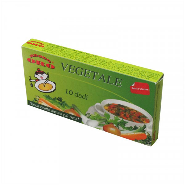 Zangrando Vegetable Stock (in cubes)